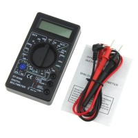 跨境专供 DT830B数字万用表 迷你万能表手持式万用表电工仪器仪表